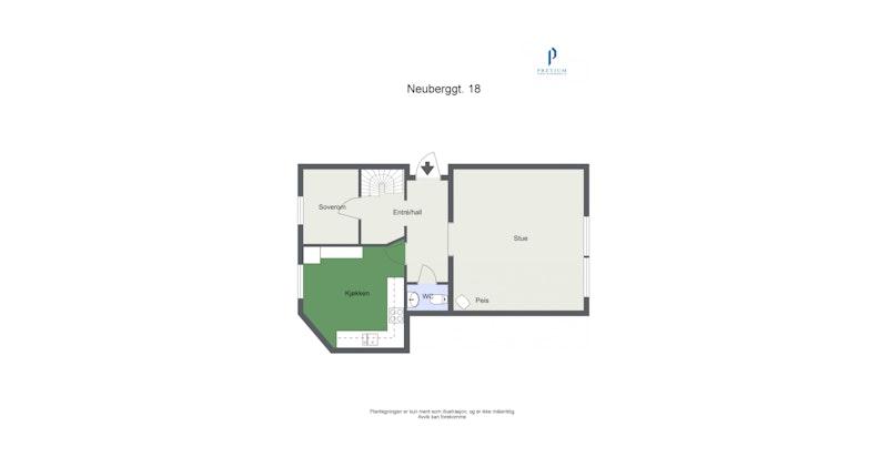 Plantegning - 1. etasje