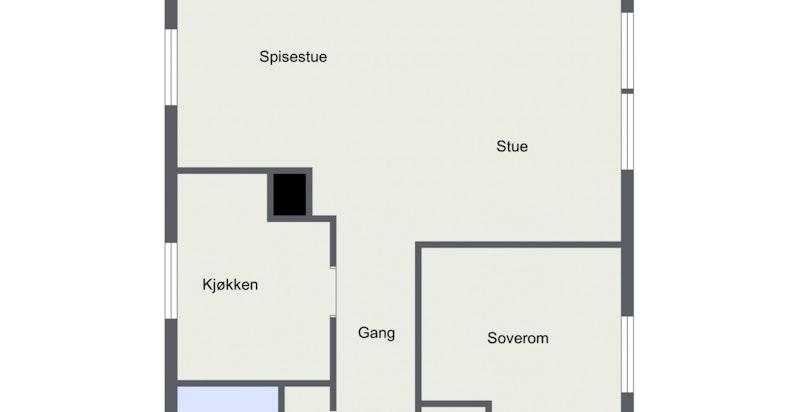 Planskisse 2. etasje.