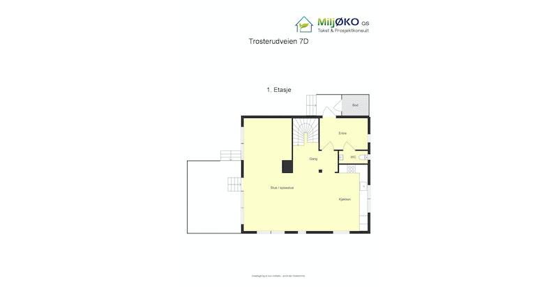 Plantegning 1. etasje