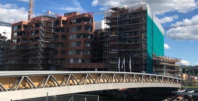 Byggingen er kommet godt i gang, og antatt ferdigstillelse er i Q1 2019.