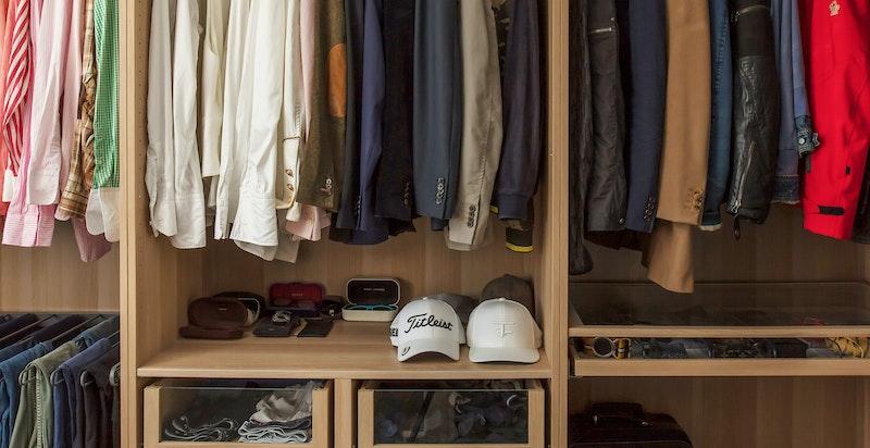 Soverom nr to - i dag brukt som walk-in-garderobe