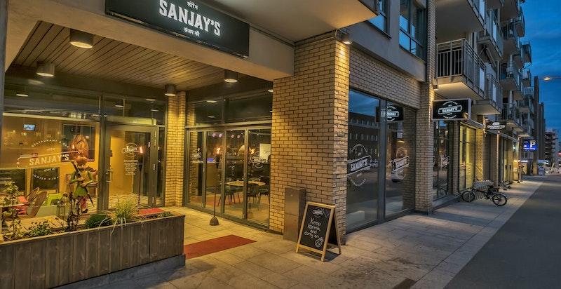 Butikker og kaféer på Løren
