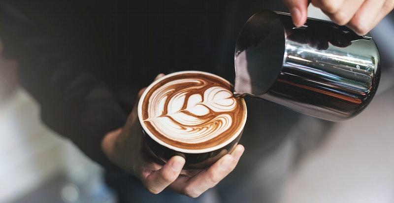 Stemningsbilde. Kort vei til god kaffe.