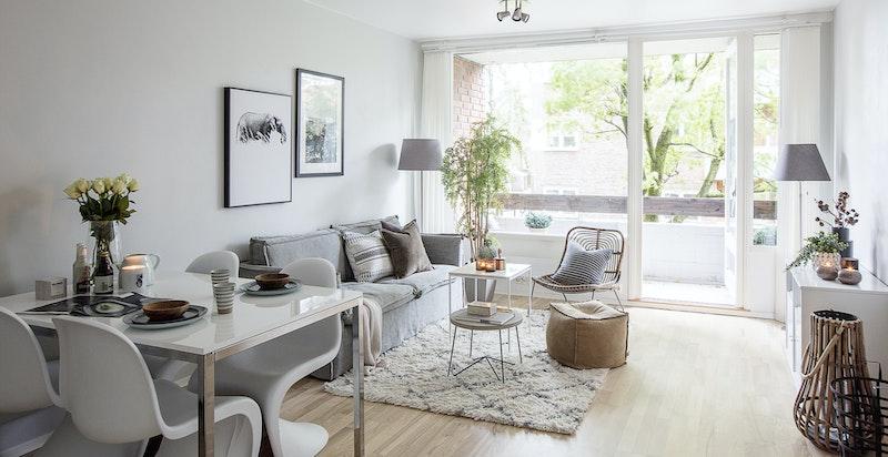 Velkommen til Brochmanns gate 3 - 3-roms leilighet med parkering, balkong og heis.
