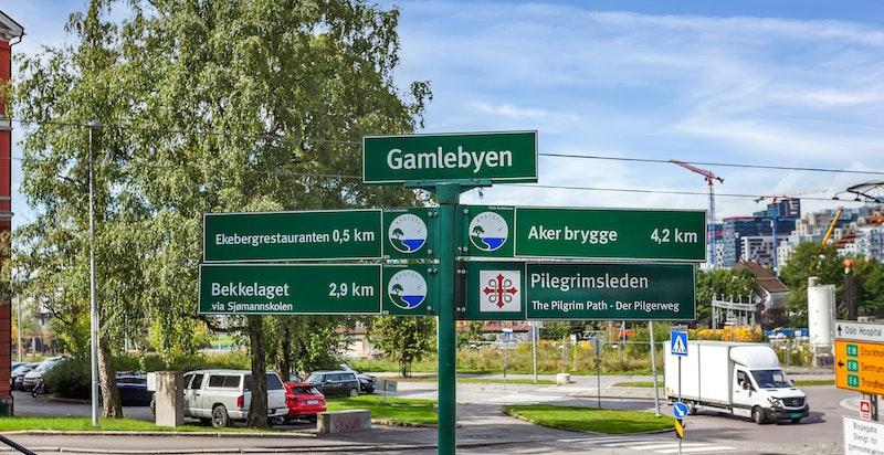 Meget attraktiv og urban beliggenhet ved foten av Ekebergskrenten i den nyere delen av Gamlebyen