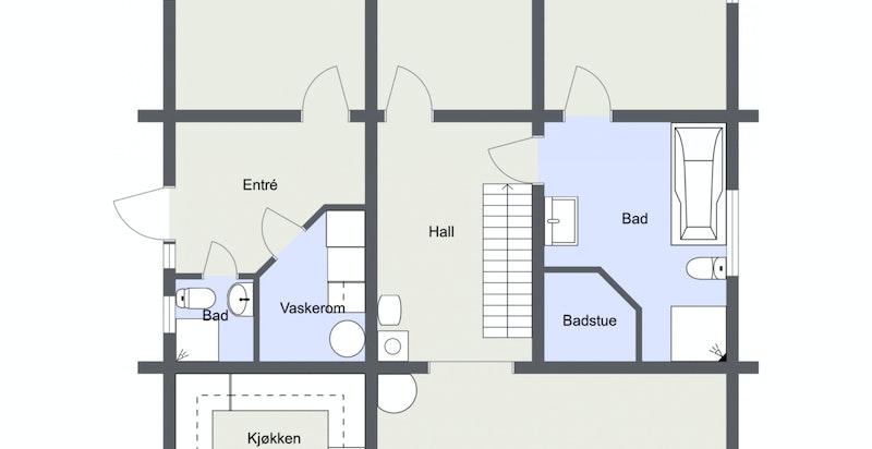 Hamnelia - Norefjell - 1. Etasje