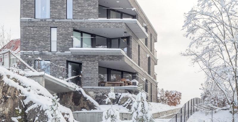 Moderne bygg tegnet av anerkjente R21 Arkitekter