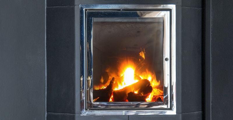 Peisovn fra Nordpeis som gir ordentlig godt med varme.