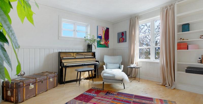"""Dette rommet er """"luksusrommet"""" som du kan bruke til hva som passer deg og dine interesser."""