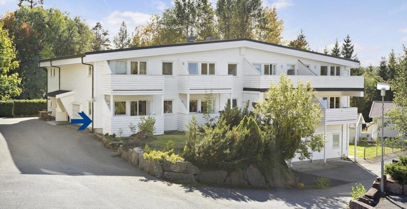 Velkommen til Røykenveien 381 B - Et hyggelig sameie i grønne omgivelser