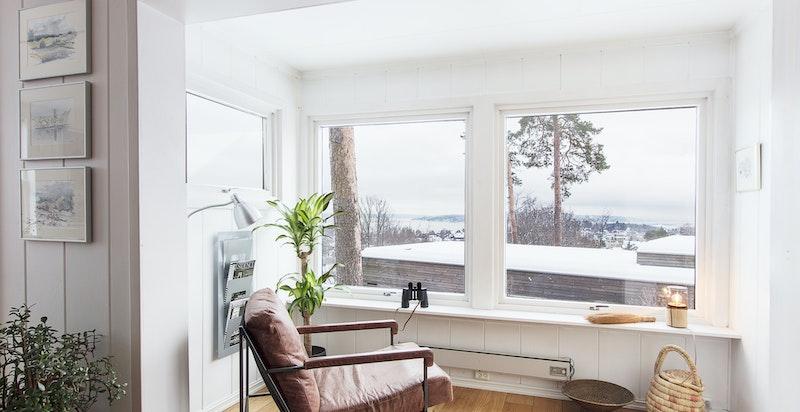 """""""vinterhage"""" - Et perfekt sted for å lese en god bok - Nydelig utsikt og godt med lys"""