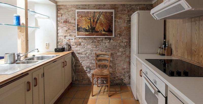 Kjøkkenet i hybelen