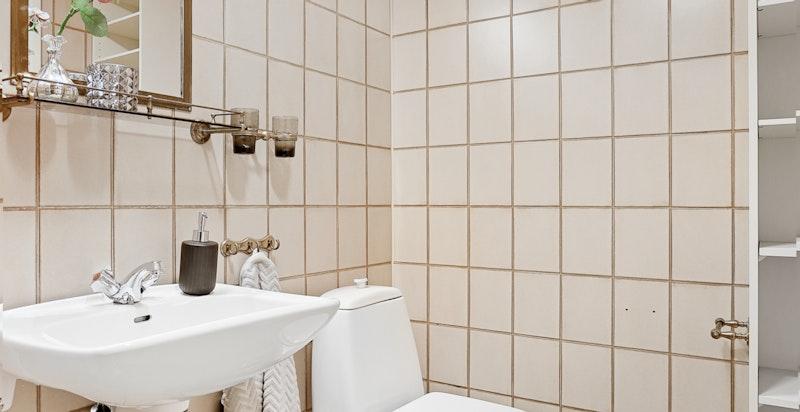 Bad/wc i u. etasjen