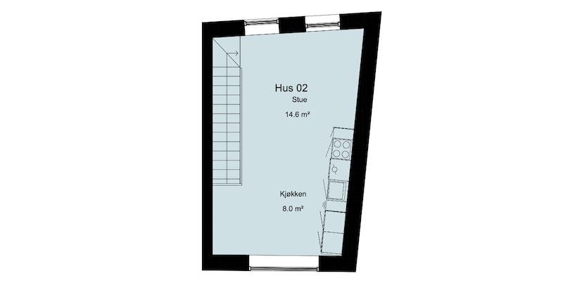 Hus 02 2.etg. TOWNHOUSE - SALG-1 ? Kopi