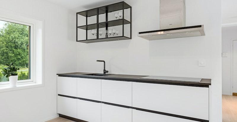 Moderne og tidsriktig kjøkken