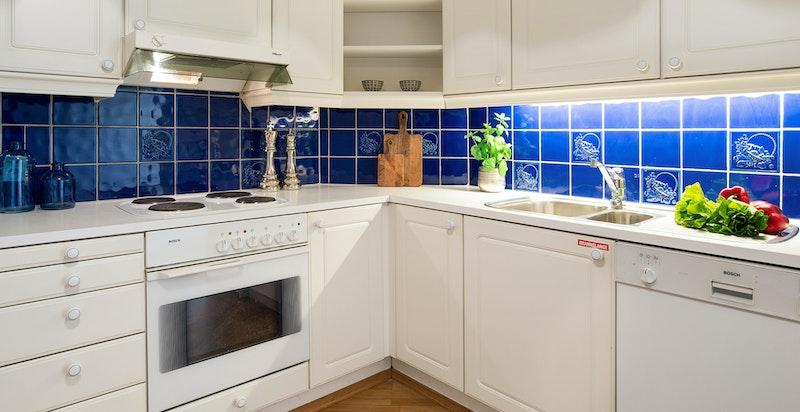 Kjøkken med standard fra byggeår