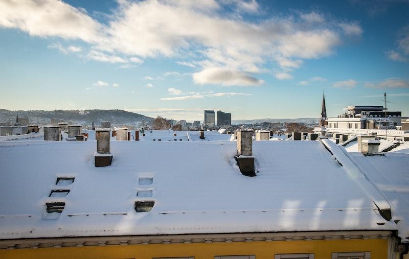 Nydelig utsikt over deler av Oslo