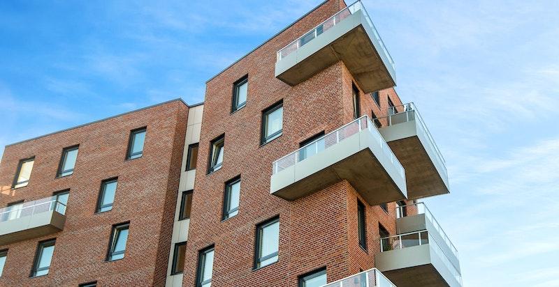 Bygget har en flott arkitektur.
