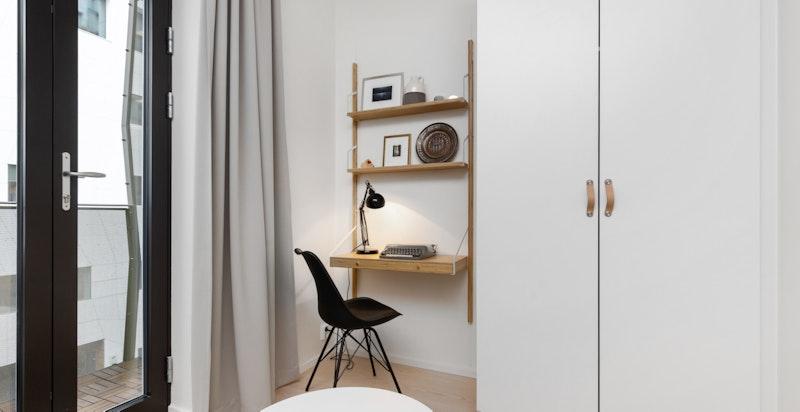 Her er det også plass til skrivepulter.
