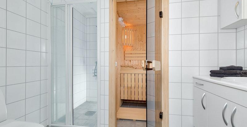 Bad med badstue