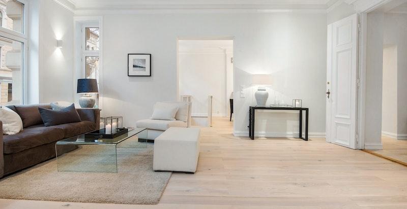 Store, åpne rom gir og en fleksibel planløsning gir mange muligheter.