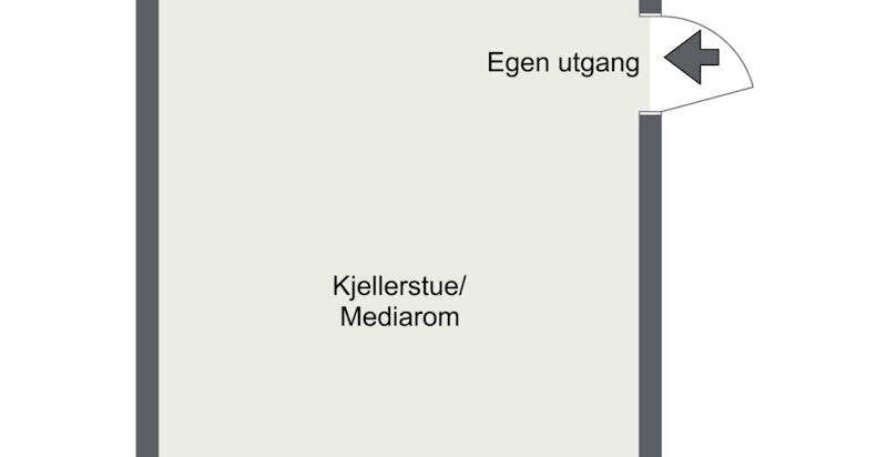 Huitfeldts gate 13  seksjon 1 kjelleretasje