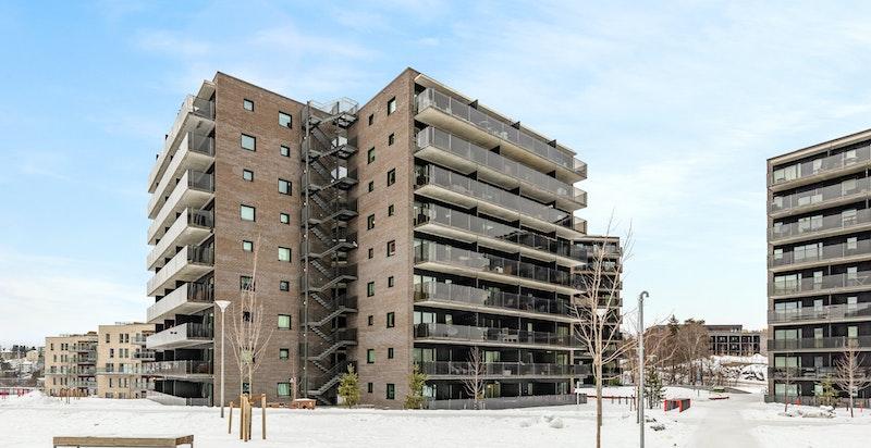 Nyere bebyggelse - oppført i 2015
