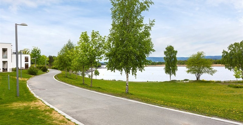 Hyggelige tur- og sykkelveier langs hele Fornebulandet og Snarøya