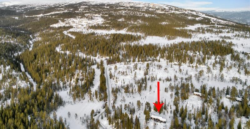 Beliggende 10 min fra alpinanlegget på Norefjell
