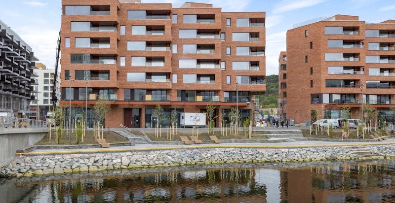 Fasade Operagata 19/Munch Brygge.