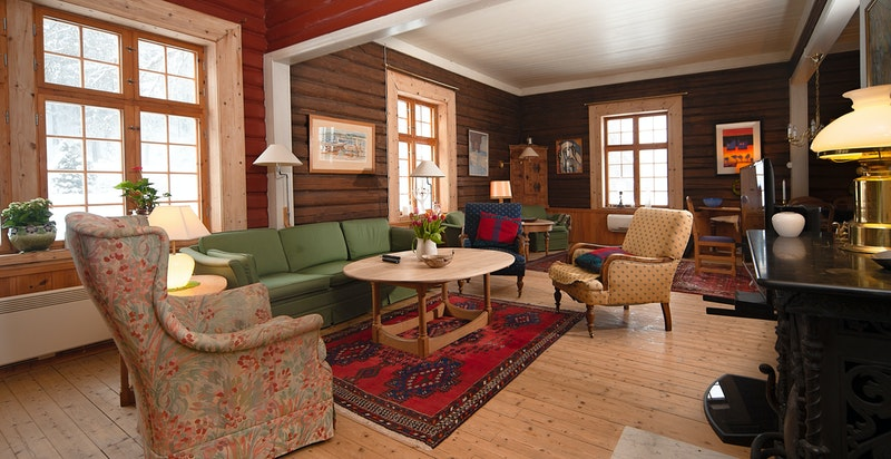 Stue i hovedhuset