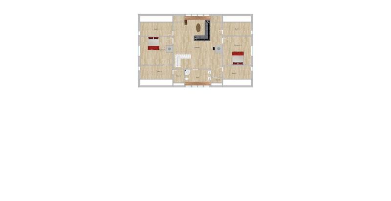 Plantegning - 2. etasje (hovedhus)