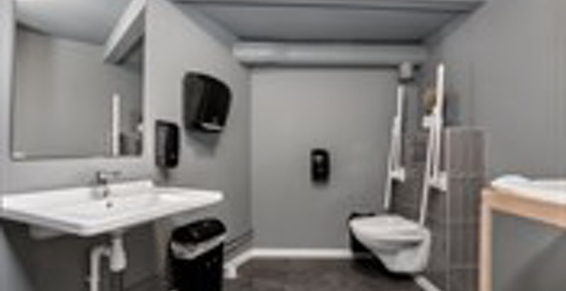 -WC med alle funksjonaliteter-