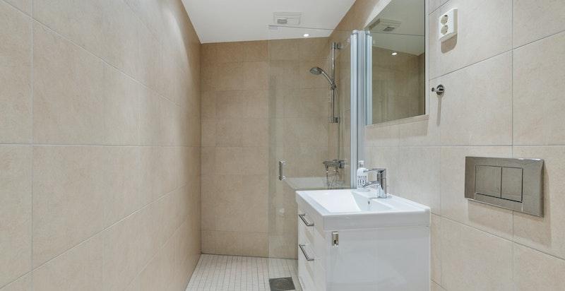 Ekstra bad med wc og dusj
