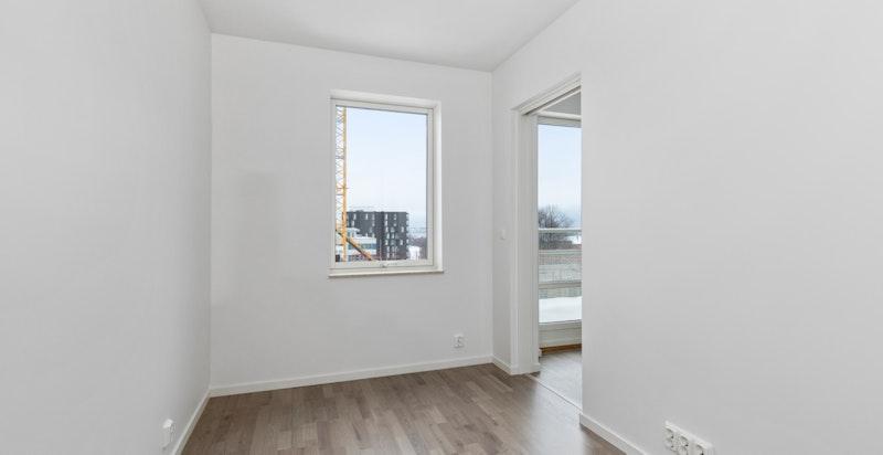 Soverom, bildet er fra en lik leilighet i en annen etasje