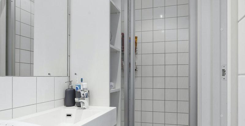 Bad/wc tilknyttet hybeldelen