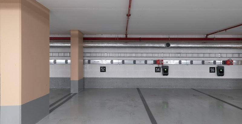 Mulighet for å kjøpe garasjeplass.