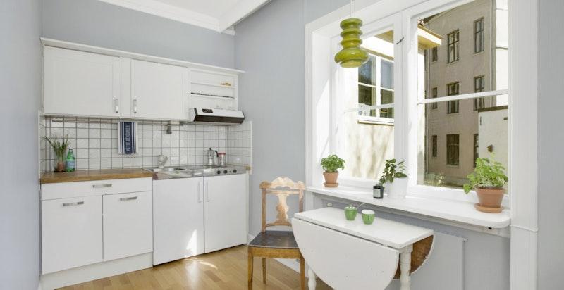 Kjøkken og oppholdsrom i 2. etasje