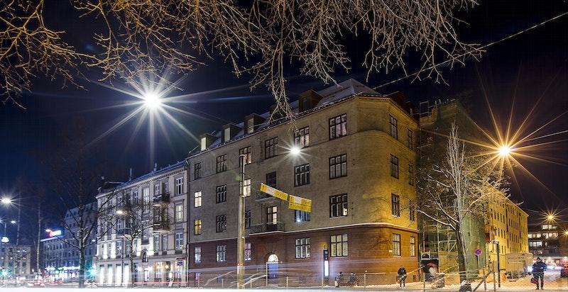 Fasade mot Kirkeveien
