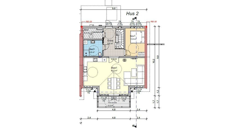 -Plantegning første etasje-