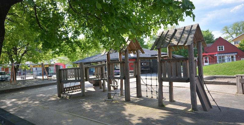 Like ved finner man barnehage - for øvrig kort gangvei til Bygdøy skole