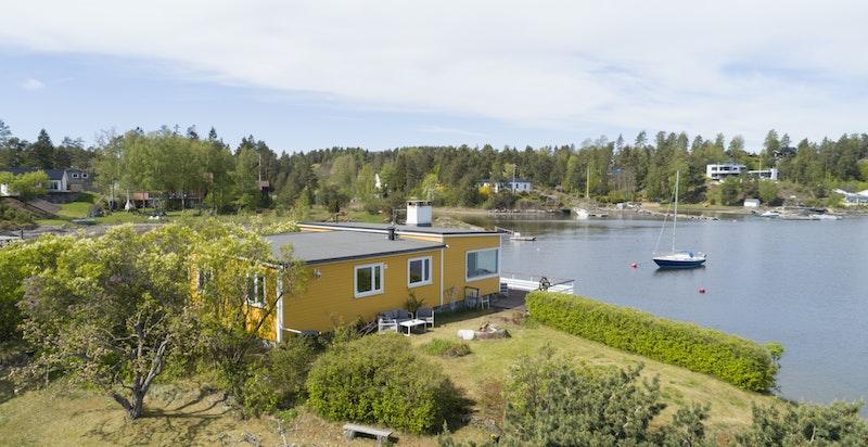 Velkommen til denne skjærgårdsidyllen på Nesøya