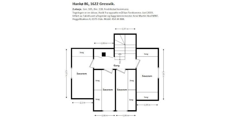 Plantegning - 2.etasje