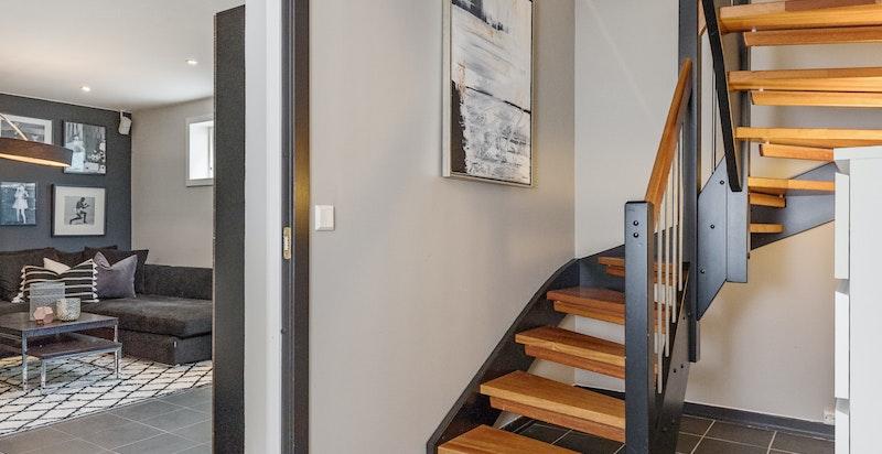 Trappegang - kjeller