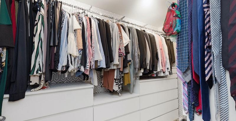 Walk-in garderobe