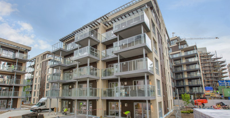 Moderne bebyggelse - oppført 2018, ferdigstilt våren 2019
