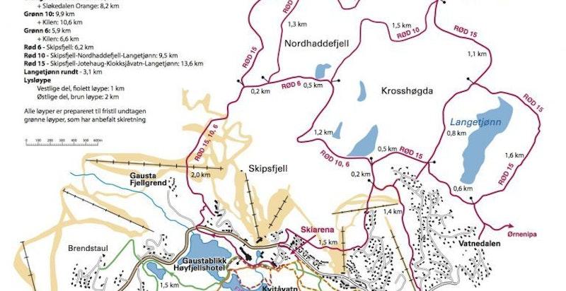 Langrenn Gaustaområdet - se www.langrenngaustaomraadet.no for siste nytt