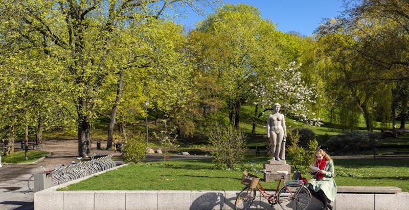 St. Hanshaugen ligger i umiddelbar nærhet og er et populært å oppsøke for solbading på varme sommerdager.