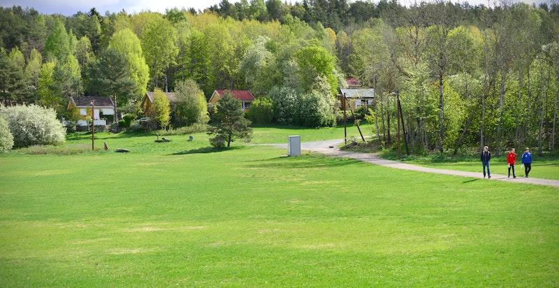 Fløott friområder både sommer og vinter på Ekeberg