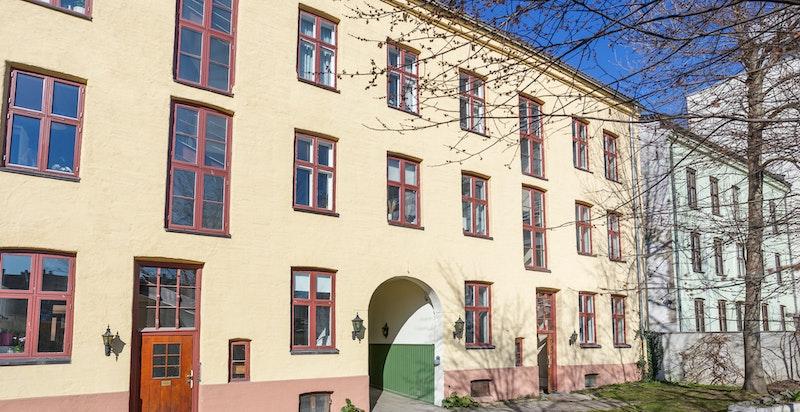 Fasaden fra bakgården